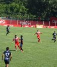 El Deportivo Iztapa se llevó un importante empate del estadio Las Victorias en su visita a Sacachispas. (Foto Prensa Libre: Cortesía Luis Santiago Martínez)