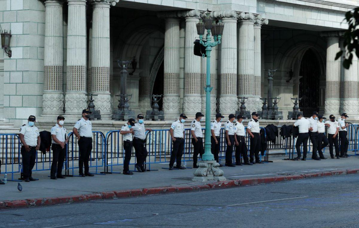 PNC afirma que actuará con base a protocolo policial en manifestación