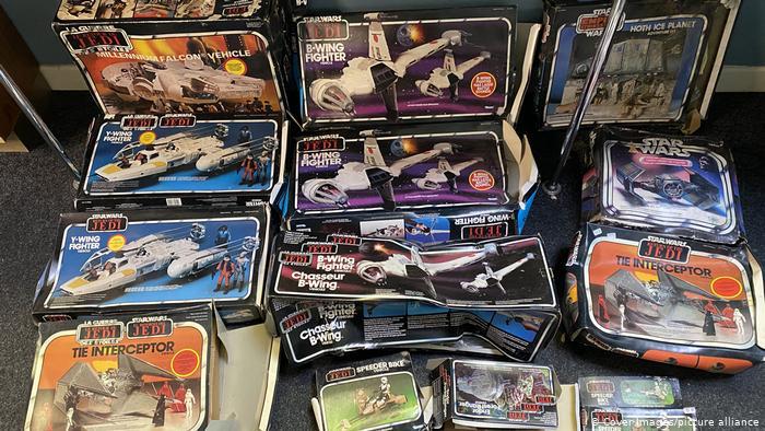 En bolsas de basura: encuentran objetos de Star Wars que valen medio millón de dólares