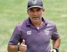 Antonio Torres Servín se despide de Antigua GFC. (Foto Prensa Libre: Hemeroteca PL)