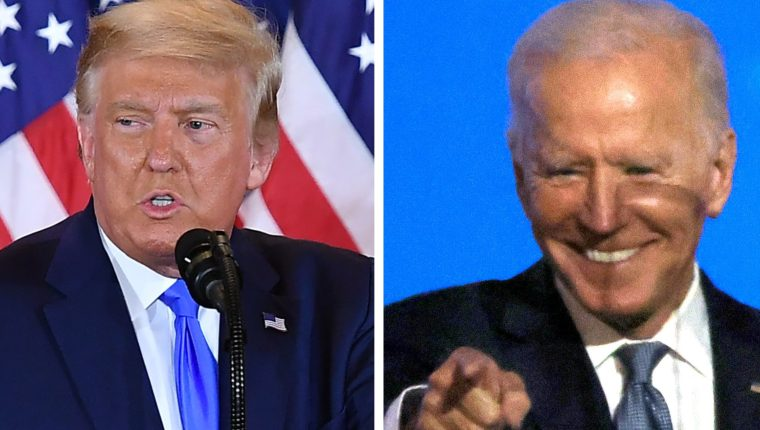 ¿Donald Trump o Joe Biden? Estados Unidos elige este 3 de noviembre al próximo presidente.