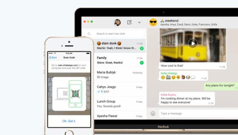 Con WhatsApp Web y WhatsApp para escritorio puede sincronizar todos tus chats con tu computadora para que puedas enviar mensajes usando el dispositivo de tu preferencia. (Foto Prensa Libre: WhatsApp)