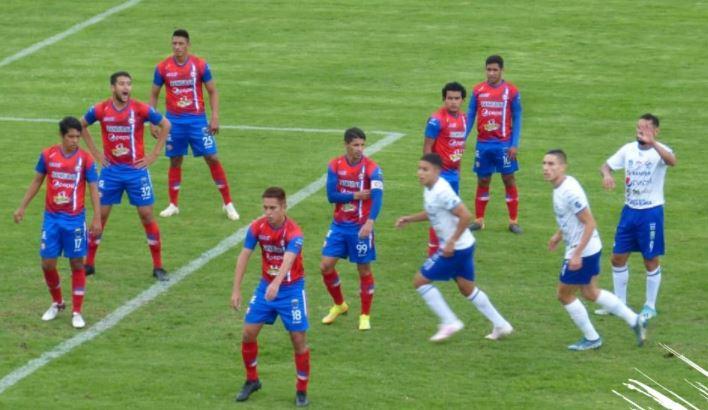 Xelajú MC y Cobán Imperial firmaron un empate sin goles en el Mario Camposeco. (Foto Prensa Libre: Cortesía Cobán Imperial)