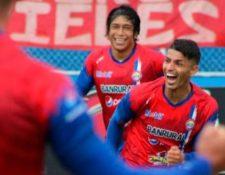 Israel Silva anotó los dos goles del triunfo de Xelajú MC 2-0 sobre Achuapa. (Foto Prensa Libre: Cortesía Xelajú MC)