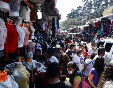 """Autoridades advierten de una """"peligrosa"""" segunda ola de contagios en el país. (Foto: Prensa Libre)"""