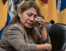 Petita Albarracín, la madre de Paola Guzmán, pidió justicia en la Corte Interamericana de Derechos Humanos.