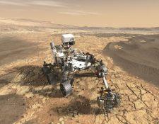 NASA / JPL-Caltech Perseverance explorará Marte durante al menos un año marciano (unos 687 días terrestres).