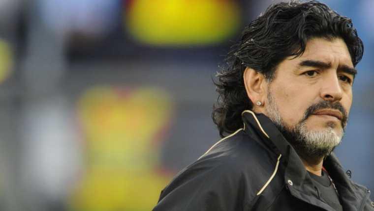En 2005, Diego Maradona habló públicamente de la muerte.(Foto Prensa Libre: Redes)