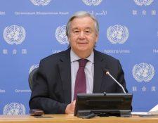 Antonio Guterres es desde el 1 de enero de 2017 el secretario general de las Naciones Unidas.
