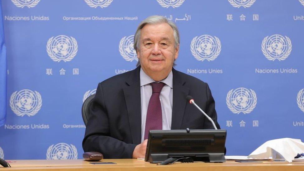 """Estamos librando una """"guerra suicida"""" contra la naturaleza, advierte Antonio Guterres, secretario general de la ONU"""