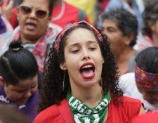 En Brasil hubo recientes protestas de mujeres por igualdad de derechos y contra la violencia de género.