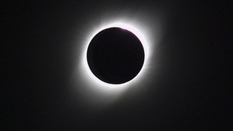 El pasado 2019, pudo disfrutarse de un eclipse solar total en Argentina.
