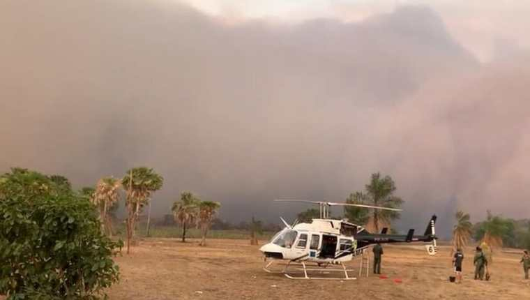 Las tormentas de cenizas comenzaron a llegar a Sao Lourenço en octubre. Los residentes dicen que ahora ocurren casi a diario.