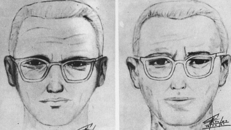 La policía de San Francisco publicó estos dibujos del sospechoso en 1969.