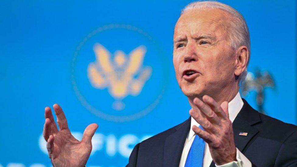 Elecciones en Estados Unidos: las declaraciones de Joe Biden después de que el Colegio Electoral confirmara su victoria