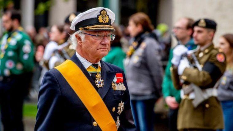 """El rey Carlos XVI Gustavo de Suecia describió 2020 como un año """"terrible""""."""