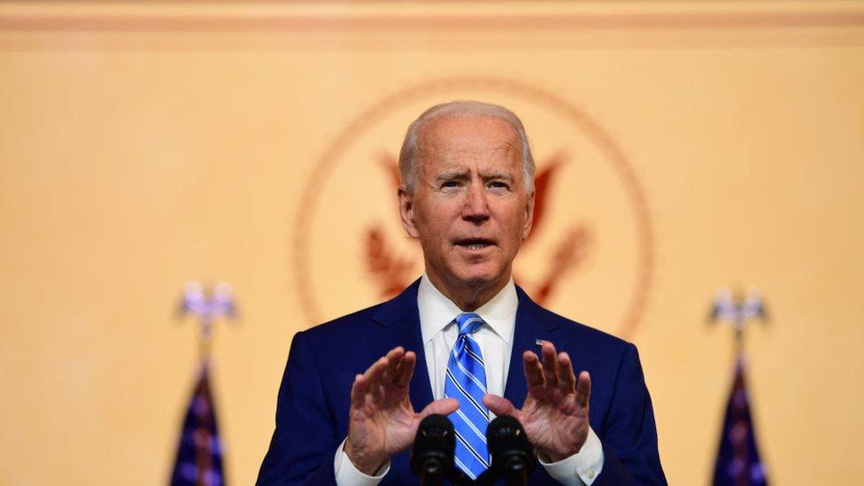 Grupo de senadores republicanos se niega a certificar la victoria de Biden en EEUU
