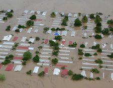 En Honduras, las inundaciones provocadas por los huracanes Eta y Iota fueron devastadoras.