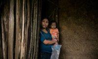 En algunos municipios los índices de desnutrición crónica en menores de 5 años llega hasta el 80%. (Foto Prensa Libre. EFE)