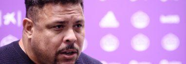 Ronaldo Nazario fue contundente con sus comentarios sobre la venta de Achraf Hakimi al Inter de Milán. (Foto Prensa Libre: EFE)