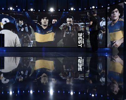 Sentido homenaje a Diego Maradona y Paolo Rossi en la gala The Best