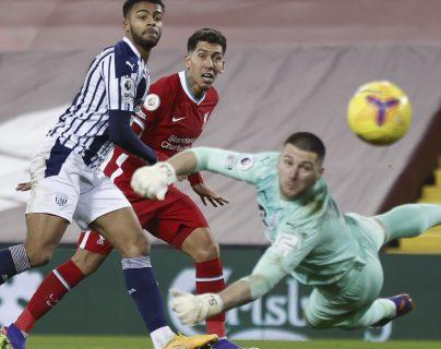 El Liverpool ve reducida su ventaja al empatar con West Bromwich