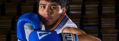 Léster Martínez, boxeador guatemalteco.