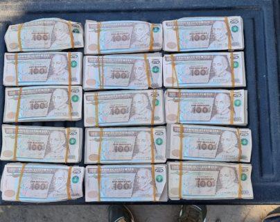 Capturan a presuntos secuestradores cuando recogían Q150 mil de un segundo pago para liberar a su víctima