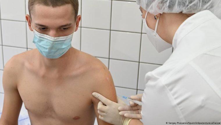 Proceso de inmunización en Rusia.