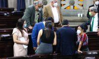 Diputados durante la sesión extraordinaria del 4 de diciembre. (Foto: Fernando Cabrera)