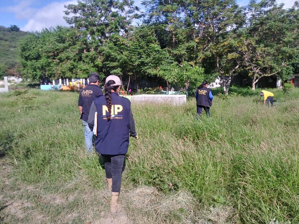 Este es el plan del MP en cementerios de El Progreso en búsqueda de Cristina Siekavizza