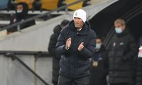 Zinedine Zidane, técnico del Real Madrid, espera retomar la senda del triunfo. (Foto Prensa Libre: AFP)