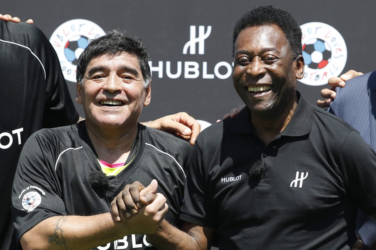 El tierno mensaje de Pelé a Maradona: algún día en el cielo jugaremos juntos en el mismo equipo