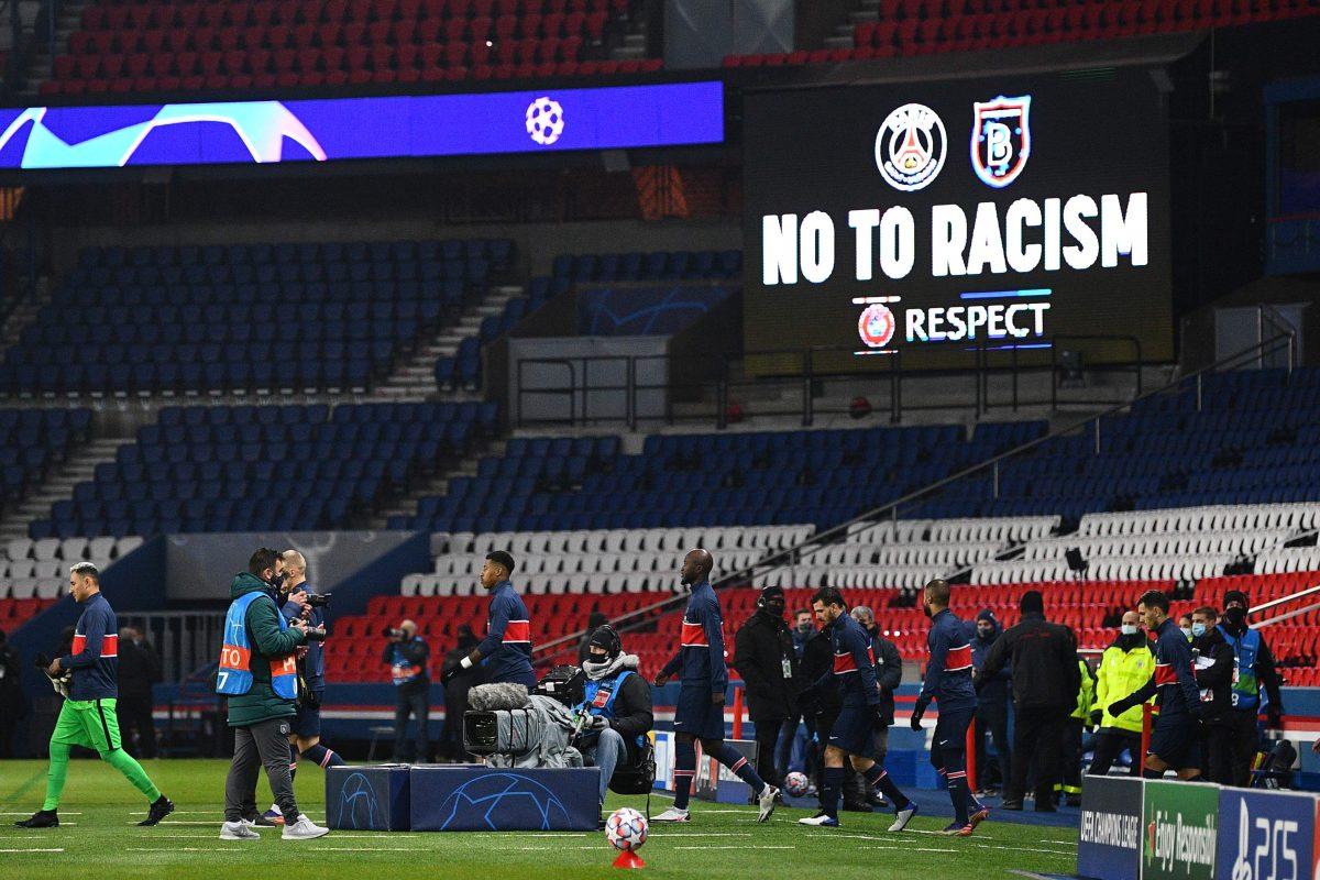 La Uefa designa inspector para investigar el incidente racista del juego PSG vs Istanbul BB