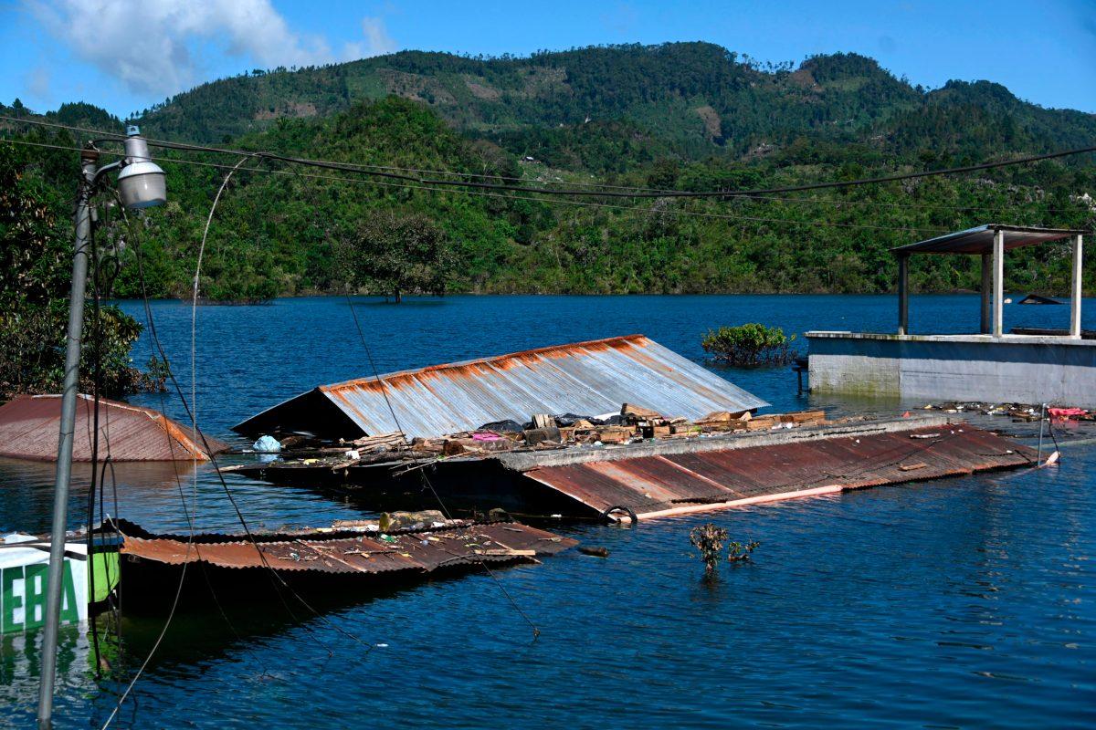 En Campur no habrá Navidad, porque mes y medio después del paso de Eta e Iota el pueblo sigue bajo el agua