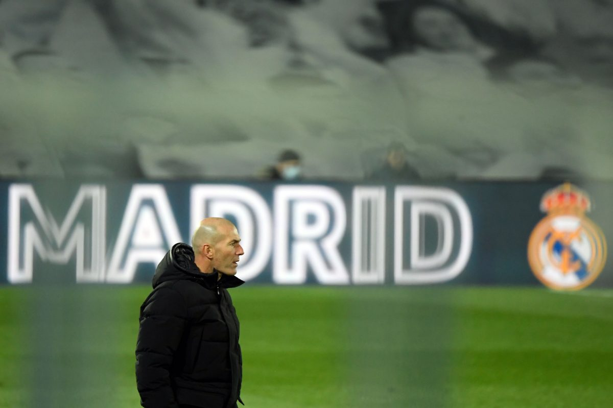 """Zidane: """"Tengo contrato hasta 2022 y no voy a pedir nada"""""""