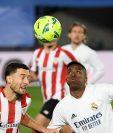Real Madrid empata ante el Athletic Club Bilbao en la décimo novena jornada de La Liga. Foto Prensa Libre: AFP.