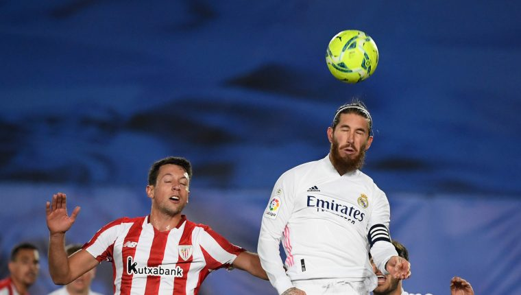 Real Madrid y el Athletic Club Bilbao jugarán su pase a la final de la Supercopa de España. Foto Prensa Libre: AFP.