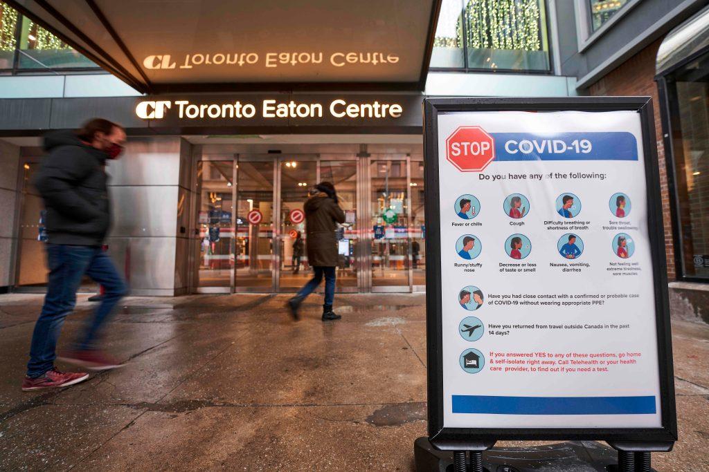 Canadá detecta los primeros casos de la nueva cepa del coronavirus