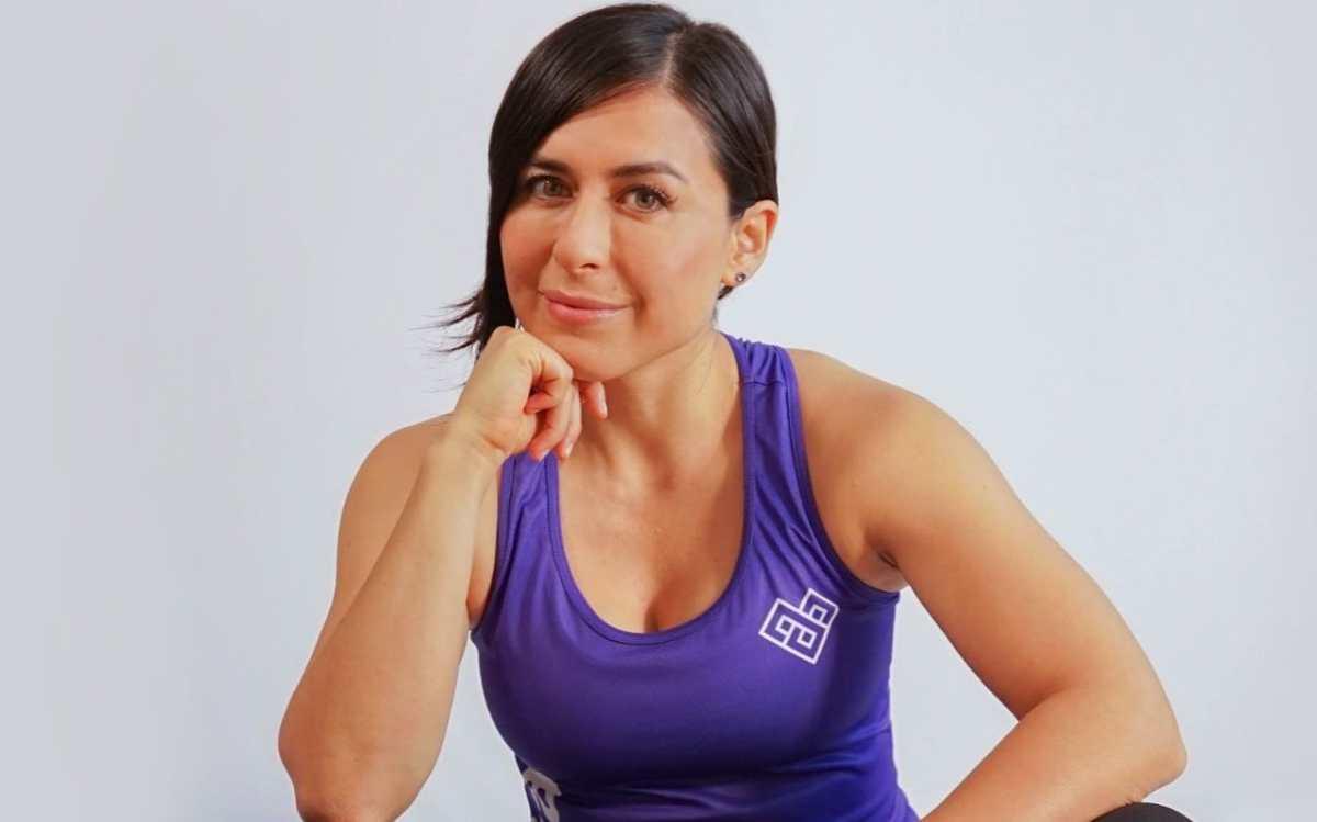 La montañista Andrea Cardona lanza plataforma que orienta a bajar de peso y dejar el estrés