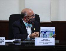 Edwin Asturias dirige la Coprecovid desde mayo del 2020. (Foto HemerotecaPL)
