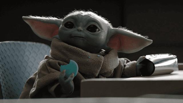 Ahora podrá disfrutar de la ternura de Baby Yoda en realidad aumentada. (Foto Prensa Libre: Forbes).