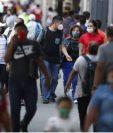 Guatemala reporta un promedio de 600 de coronavirus por día. (Foto Prensa Libre: Hemeroteca PL)