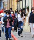 Los casos de coronavirus en Guatemala se están registrando en gente joven. (Foto Prensa Libre: Hemeroteca PL)