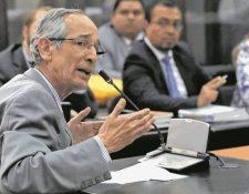 El expresidente Álvaro Colom enfrenta un proceso por el caso de corrupción en el servicio Transurbano. (Foto HemerotecaPL )