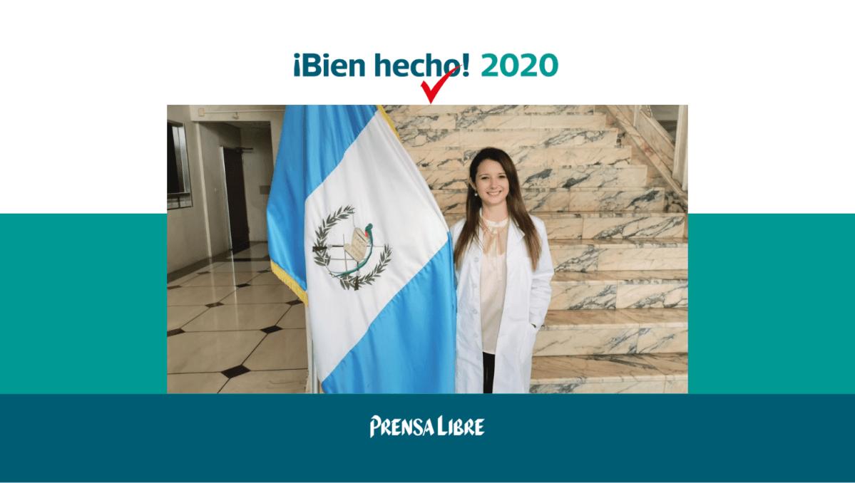 Bien Hecho 2020: Andrea del Valle trabaja para crear la cura contra el cáncer mediante medicina maya