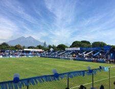 Foto de archivo del estadio municipal de Santa Lucía Cotzumalguapa, Escuintla. Foto Prensa Libre: Cortesía @FCSantaLuciaCotzPaginaOficial