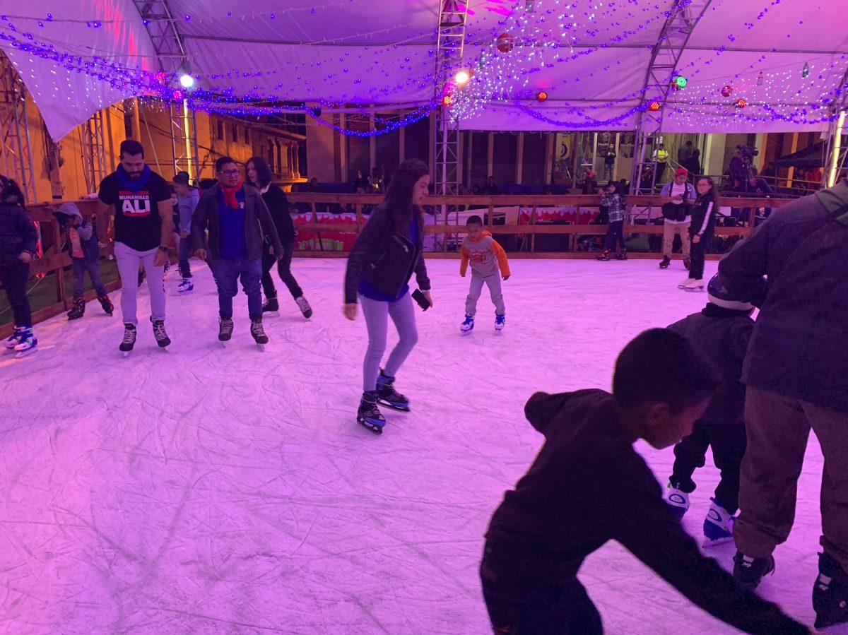 Mixco sigue adelante con pista de patinaje a pesar de que Salud pide que se abstenga