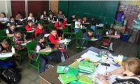 Alrededor de 38 mil niños que cursaban preprimaria en colegios privados dejaron los estudios, debido a la pandemia del covid-19. (Foto Prensa Libre: Hemeroteca PL)