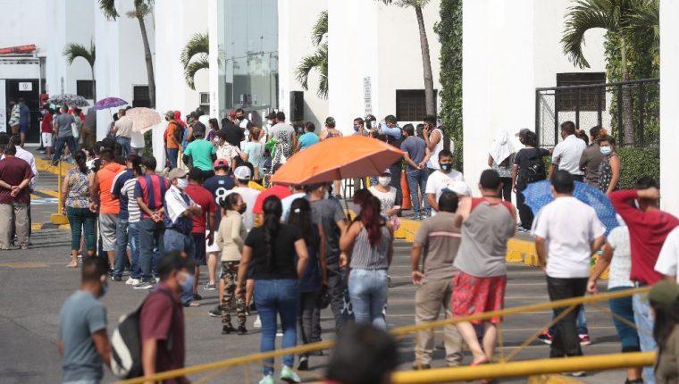 La pandemia impulsó el crecimiento de cuentas de depósitos y puntos de acceso a nivel nacional. (Foto Prensa Libre: Hemeroteca)